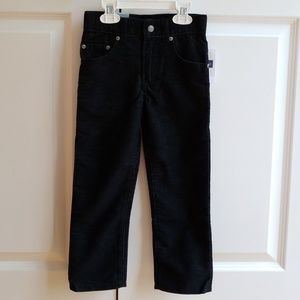 GAP, Black Corduroy Pants, Size 4